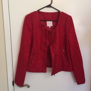 NWT Red Coat by Romeo & Juliet Couture